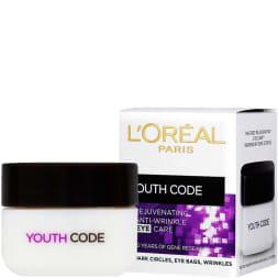 Crème rajeunissante contour des yeux - Youth Code - 15 ml