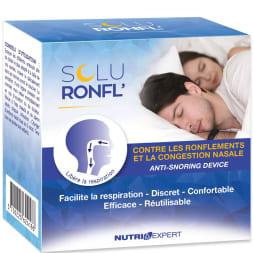 Dispositif nasal anti-ronflement - Soluronfl