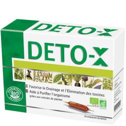 Cure détox bio drainage & élimination de toxines - 20 jours
