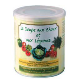 Cure de soupe aux choux & aux légumes - 5 jours