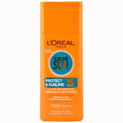 Lait de bronzage SPF 15 - Sublime Sun - 200 ml