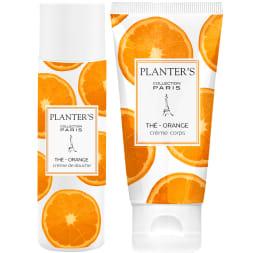Coffret Thé Orange - Duo douche envoûtante