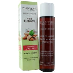 Huile de massage stimulante – Visage & corps – Tous types de peaux - 150 ml
