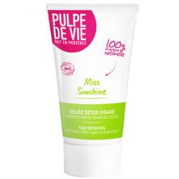 Gelée hydratante bio Miss sunshine - Detox - 40 ml