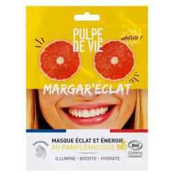 Masque tissu éclat & énergie bio margar'éclat - Unidose