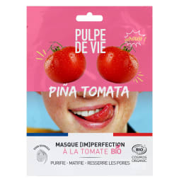 Masque tissu [Im]perfection bio pina tomata - Unidose