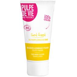 Masque & gommage bio Sucré frappé - Eclat & énergie - visage - 75 ml