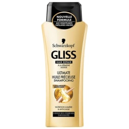 Shampoing Gliss - Ultimate huile précieuse - Cheveux secs - 250 ml