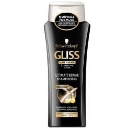 Shampoing Gliss - Ultimate repair - Cheveux abîmés & secs -  250 ml