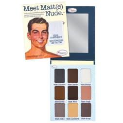 Palette d'ombres à paupières Meet Matt(e) Nude - 9 teintes