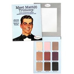 Palette d'ombres à paupières Meet Matt(e) Trimony - 9 teintes