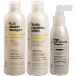 Pack SOS anti-chute à la kératine - Cheveux fragiles & cassants - 3 produits