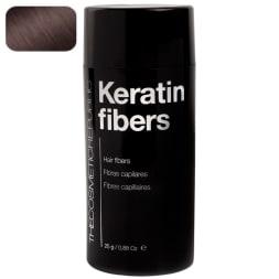 Poudre de microfibres de kératine - Châtain foncé - 80 applications