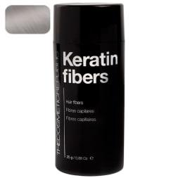 Poudre de microfibres de kératine – Gris – 80 applications