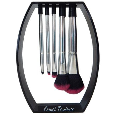 Beaute Privee Kit De Rangement Magnetique Pour Pinceaux 5 Pinceaux Noir French Tendance